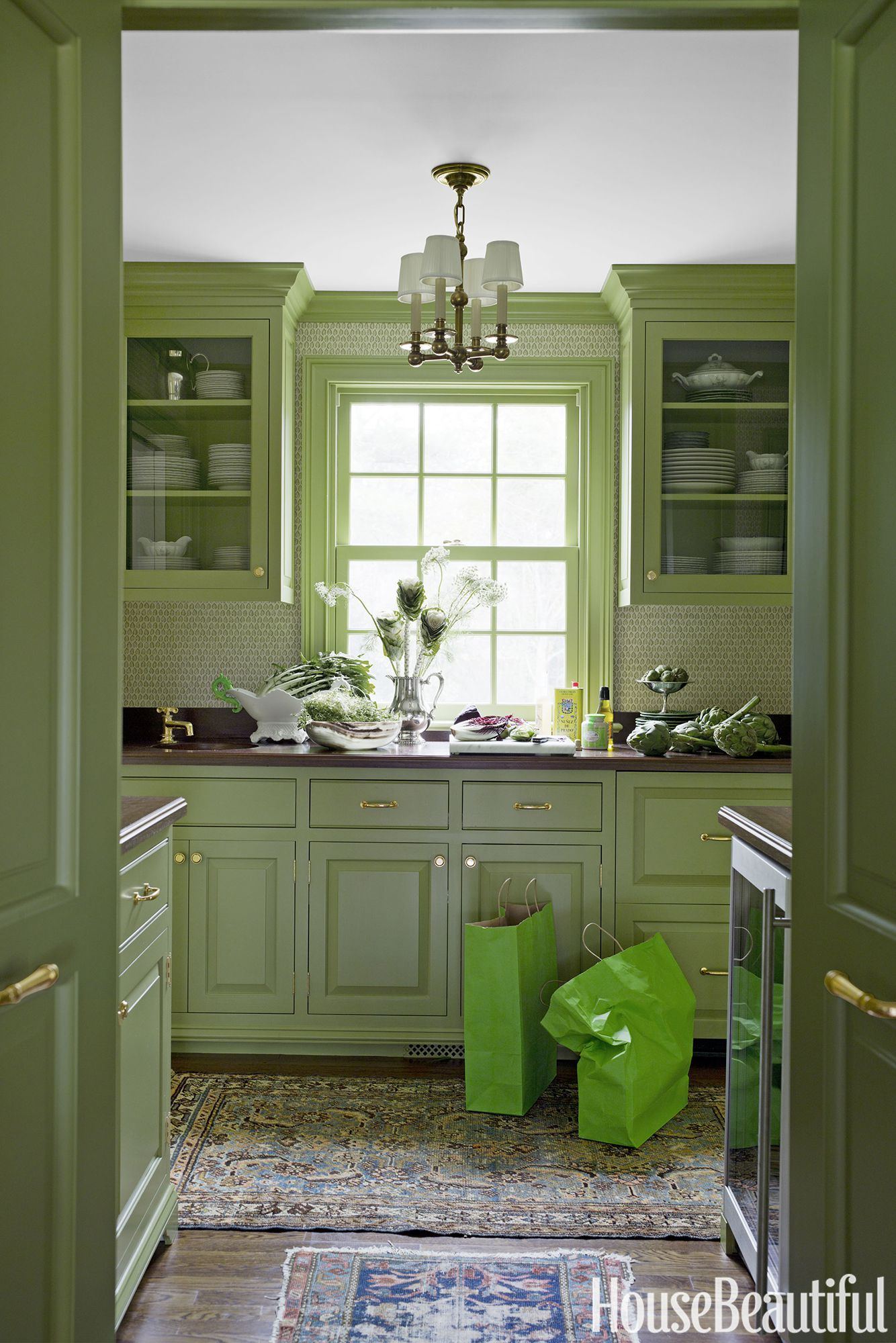 15 Green Kitchens You Re About To Envy Hard Kitchens Green
