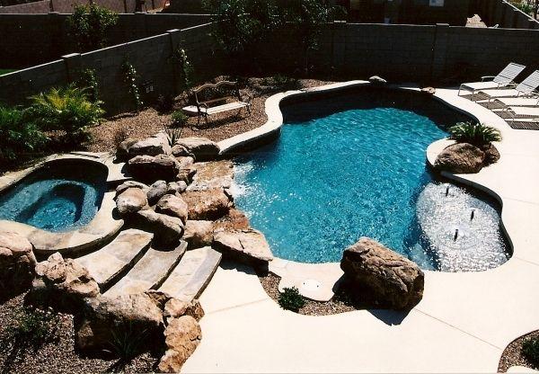 Back Yard Swimming Pool Designs | Pool U0026 Backyard Designs: Fabulous  Inground Swimming Pool Kits
