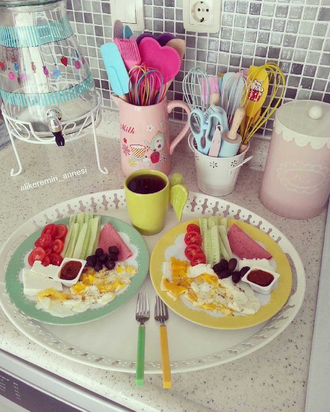 Rangement Petit Dejeuner Cuisine günaydın #pasamla#kahvaltikeyfimiz #tantitoni#arahome