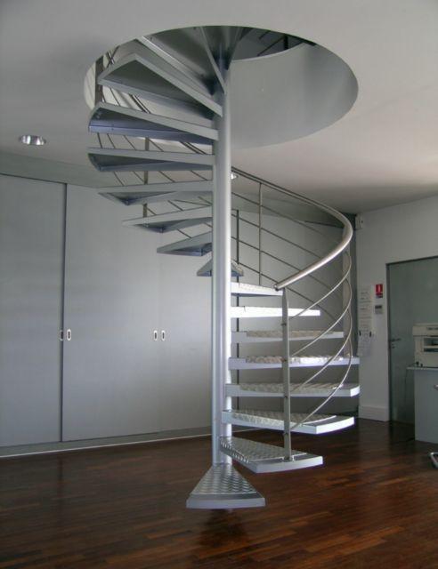 R sultat de recherche d 39 images pour main courante escalier alu escalier pinterest main - Dimension escalier colimacon ...