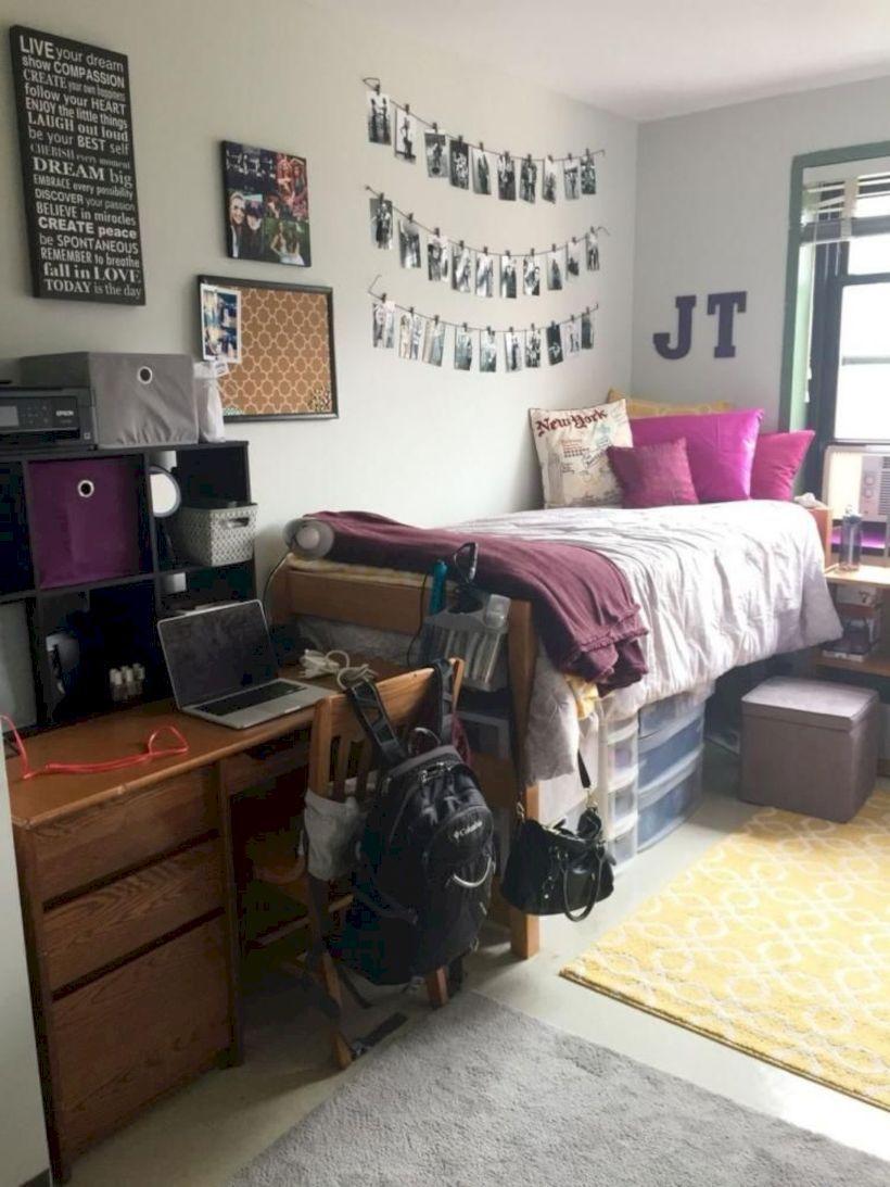 51 Elegant Dorm Room Decorating Ideas | Diy Home Decor | Dorm Room