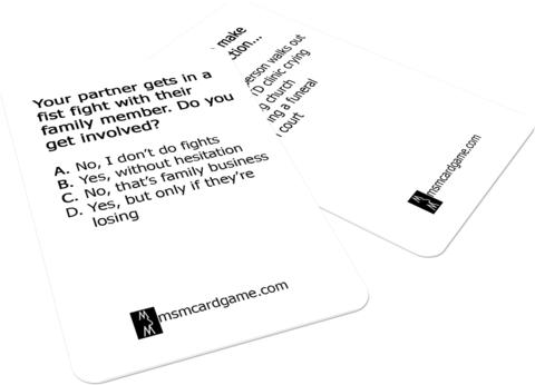 mentally stimulate me card game questions