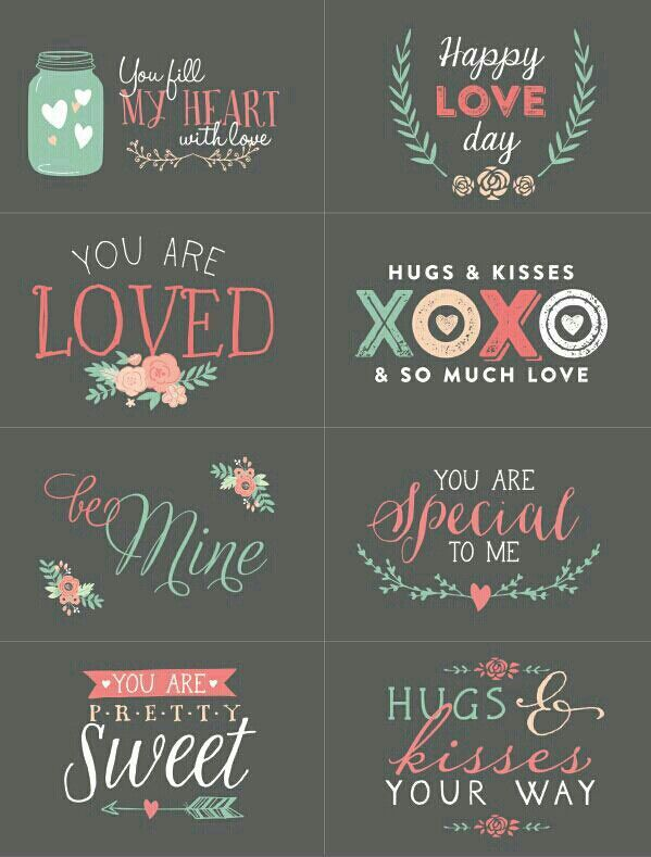 Cute Cute Cute   ValentineS Day    Free Printables