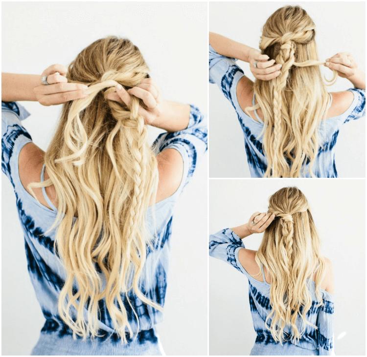 Frisuren Fuer Lange Haare Zum Selber Machen