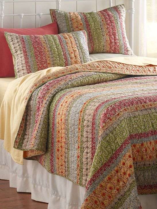 Ruffle Quilt: Quilts | Free Shipping at L.L.Bean