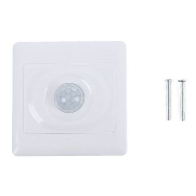 220V PIR Wall Mount Infrared Motion Sensor Automatic Light Switch ...