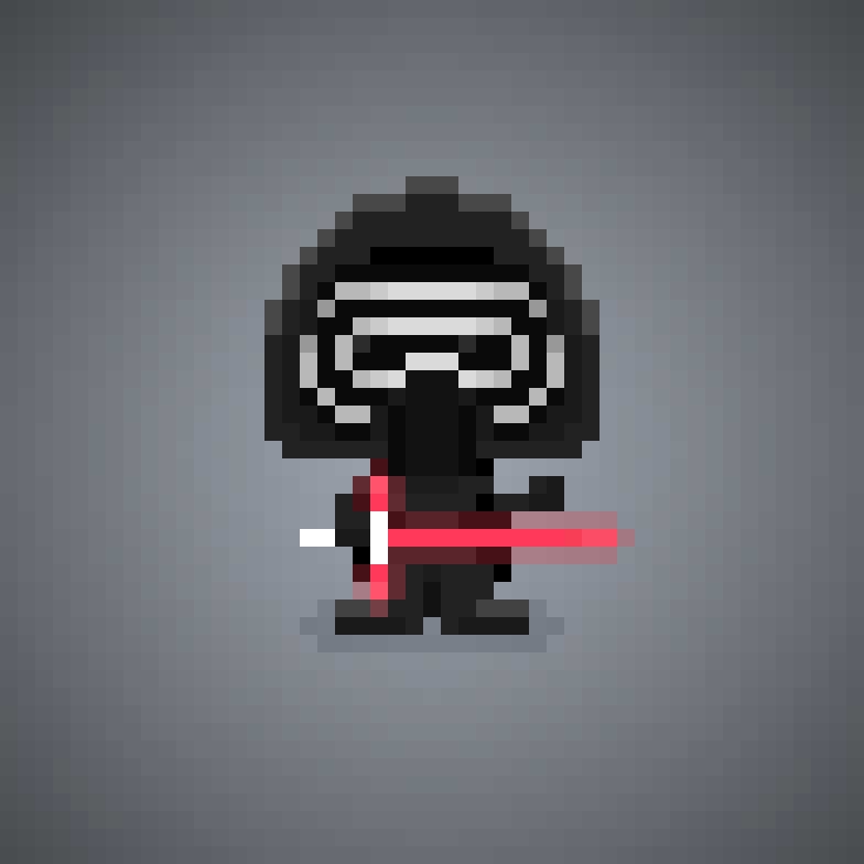 Kylo Ren Star Wars Episode 7 The Force Awakens Pixel