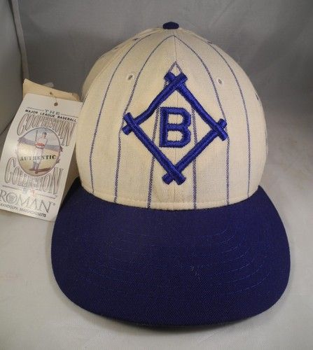2adcd3b4718ef2 1912 Brooklyn Dodgers Cooperstown Collection HAT Fitted CAP 7 1 8 | eBay