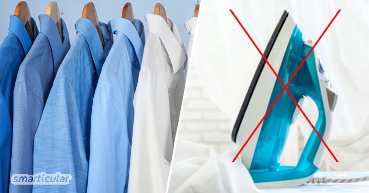 Hemd Glätten Ohne Bügeleisen