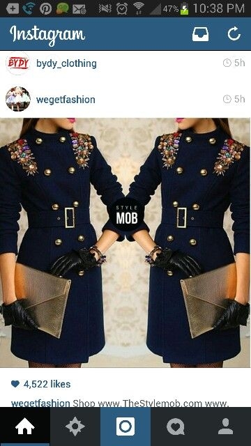 I love everything about this trench!! ♥♥ I think I may design my Guess trench this way :))