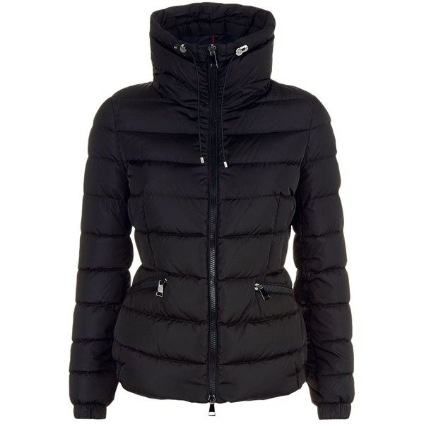 Moncler Irex Jacket ($885) ❤ liked on Polyvore featuring outerwear, jackets, stand