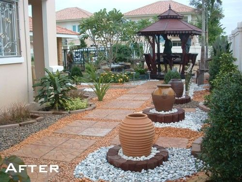 Nice Backyard Ideas No Gr Small Landscaping Without