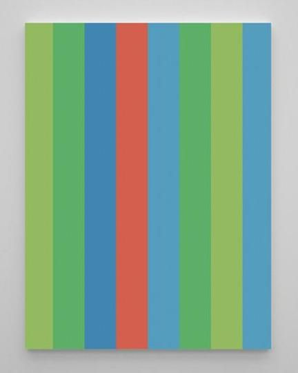Any time by www.identity5.com #walldecor#white#offwhite#lightwood#blue#green#red#painting#design#modern#homedecor#rouge#vert#deco#bleu