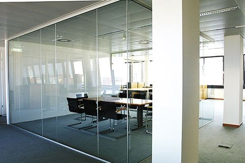 Image result for divisoria piso teto vidro
