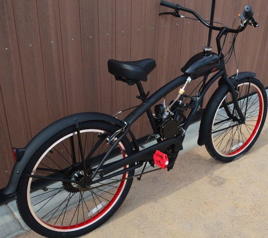 Electric Motor Kits For Push Bikes: Bike And 80cc 2 Cycle Motor Kit Motorized Bicycle Bike