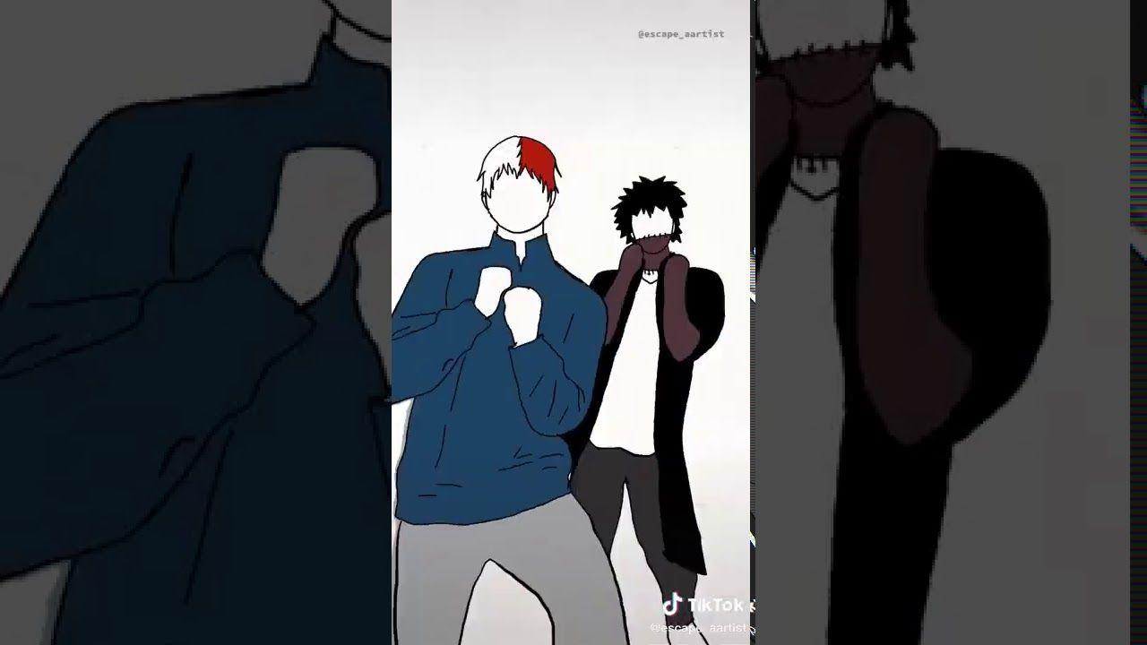 Bakugou Kirishima Midoriya Hawks Dabi Shoto Shinsou Flash Warning Youtube Kirishima Anime Films Aesthetic Anime