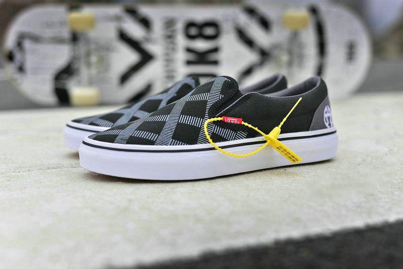 3d50cc3ab3 Journal Standard x Vans Old Skool AB34 Dark Grey Black White Skate Shoe   Vans