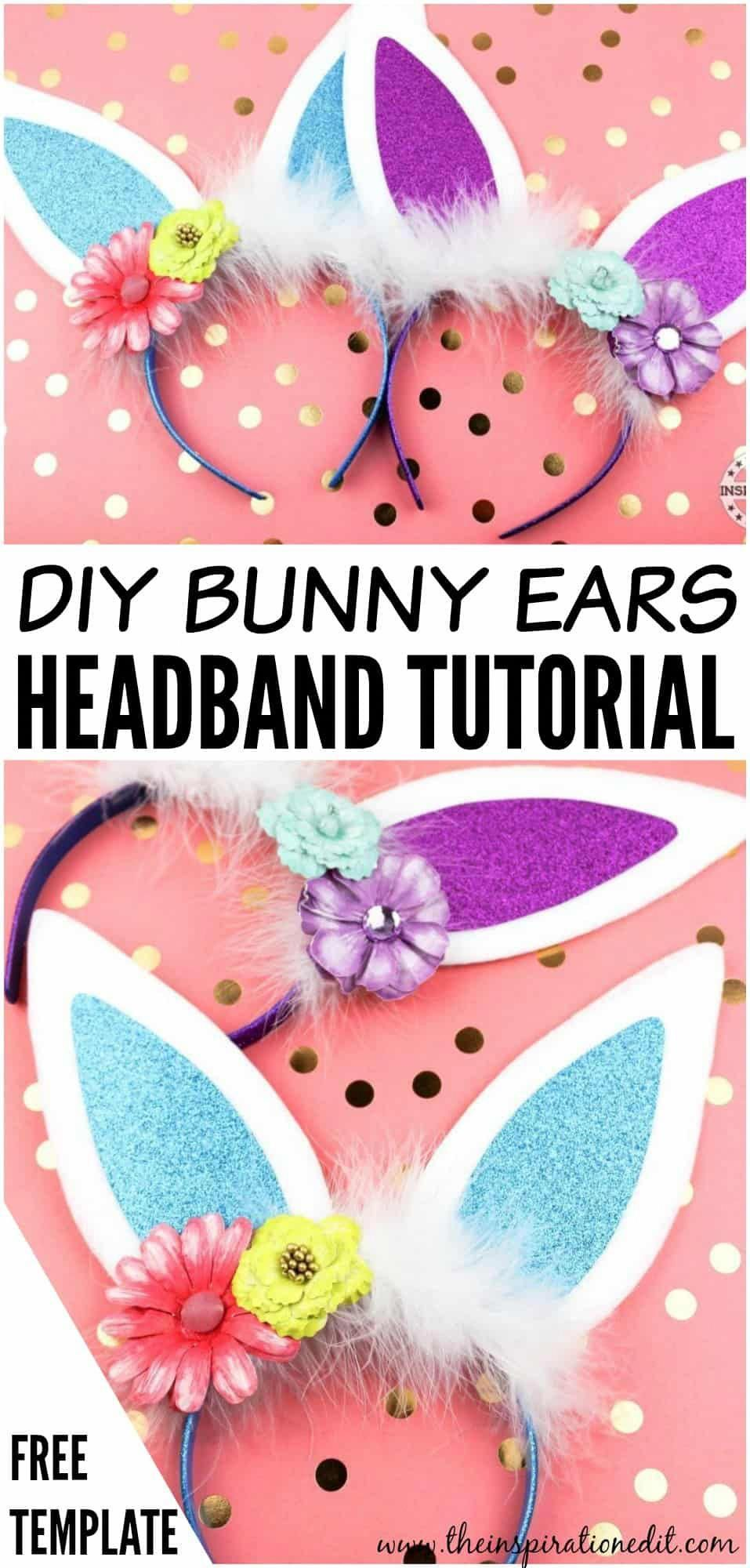 Today we have a gorgeous and fun Bunny ears headband tutorial which is so so cute I just love these bunny ears and think they would make a lovely Easter gift for the kids...