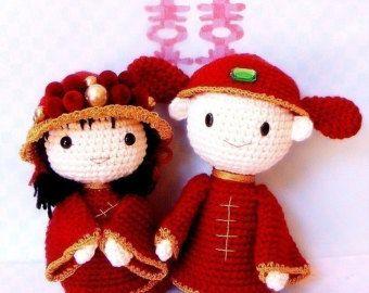 Amigurumi Kokeshi Doll Pattern : Amigurumi kokeshi pattern b bee crochet kokeshi doll tutorial