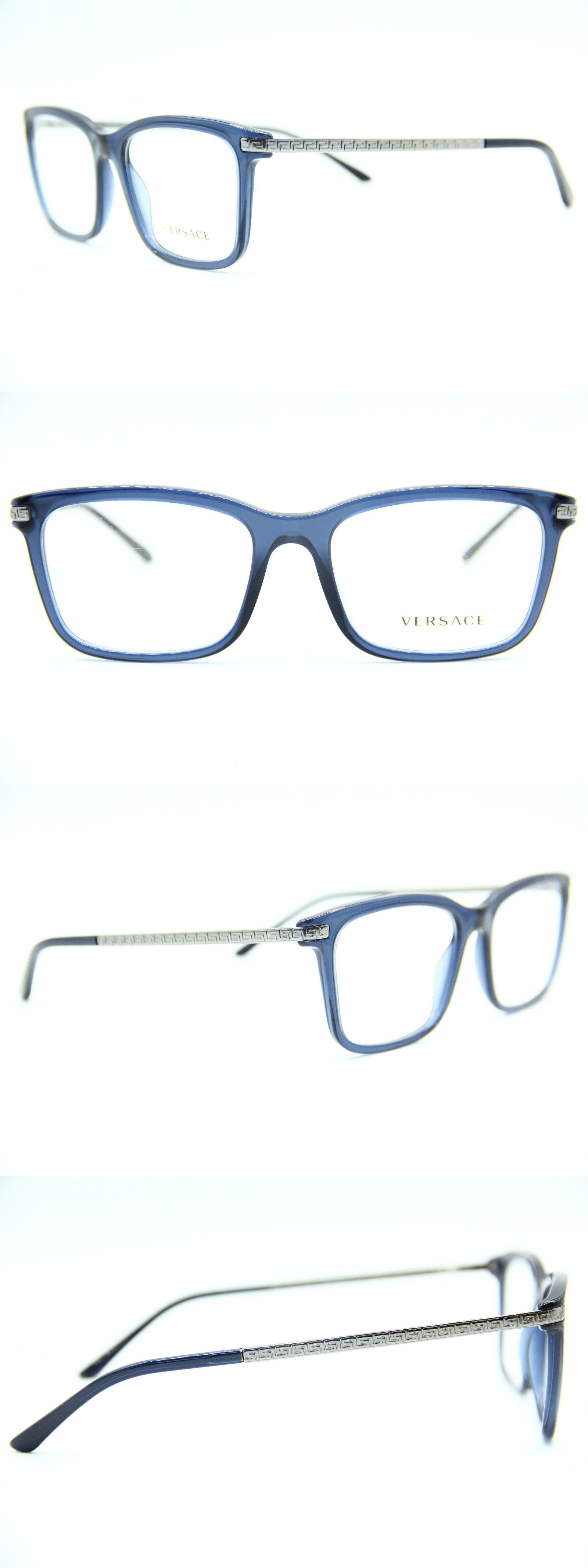 0ed7881b98e1 Vision Care 31414  New Versace Mod. 3210 5111 Blue Eyeglasses Authentic  Mod.3210