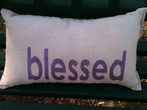 Thanksgiving Blessed Pillow