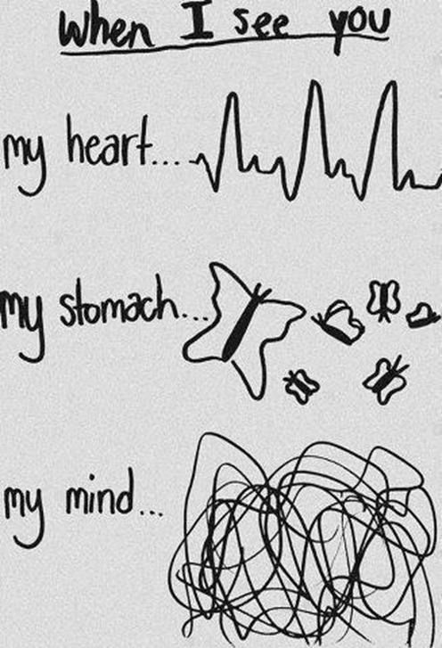 Every Time I See My Crush In School Love Quotes Crush Quotes When I See You