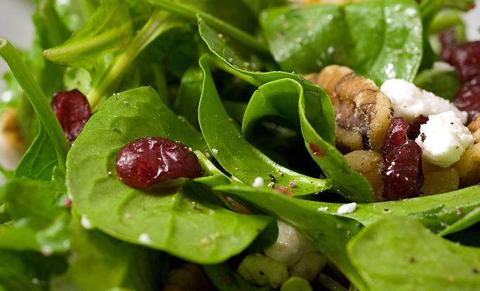 1 Minute Spinach Recipe