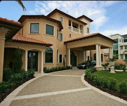 Porte Cochere Driveway Australian House Plans House Plans For Sale Dream House Exterior