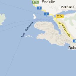 Dubrovnik Hostels Map, Croatia | Hostelworld.com