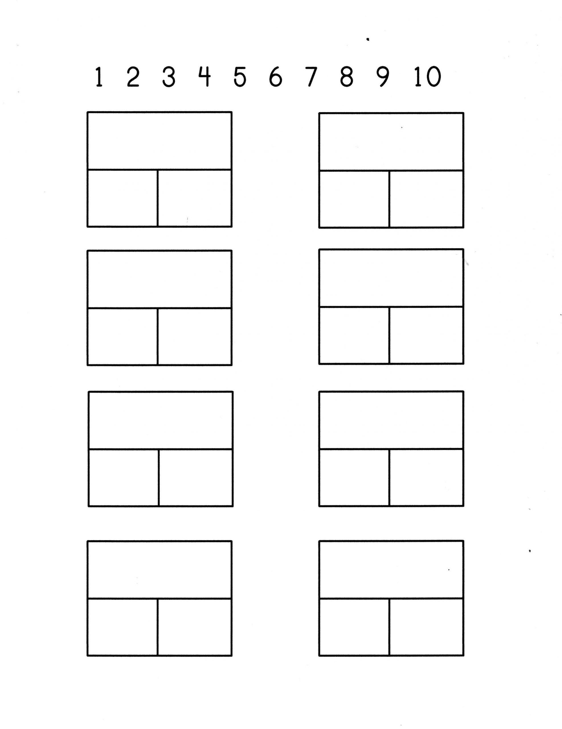 Blank Number Line Worksheet Part Part Whole Dominos Math