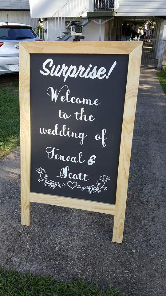 Have A Surprise Wedding