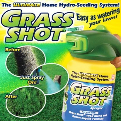 Grass Shot By Bulbhead The Ultimate Home Hydro Seeding System Liquid Spray New Grassshot Growing Grass From Seed Seeds Grass