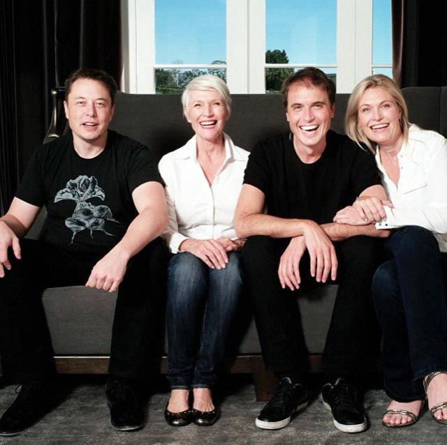 The musk family of geniuses. | Maye musk, Elon musk, Elon musk wife