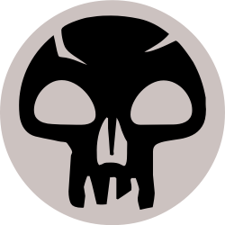 Black Magic Mana Logo Tatuagem Tatoo