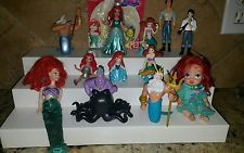 Disney Little Mermaid Ariel Eric Ursula etc PVC Figure Cake Toppers Mixed lot
