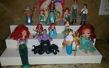 Disney Little Mermaid Ariel Eric Ursula etc PVC Figure Cake Toppers Mixed lot