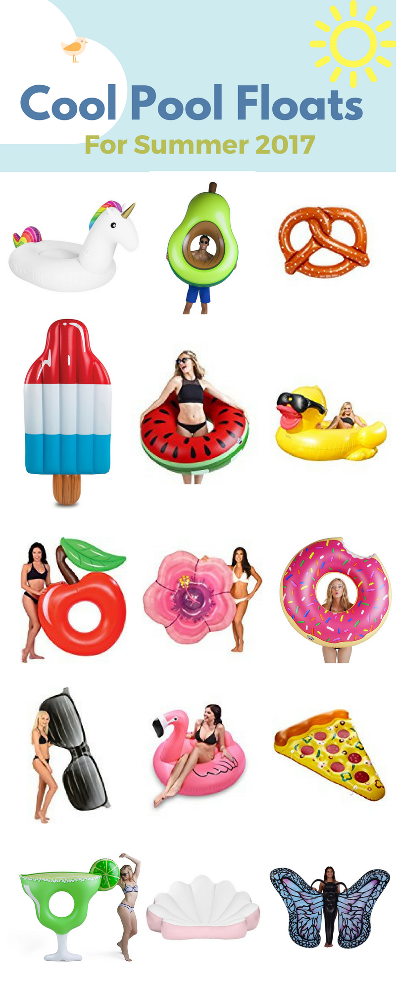 Cool Pool Floats For Summer 2017 Reviews And Buyers