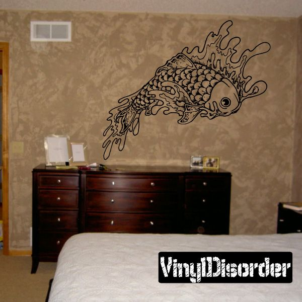 Fish Wall Decal - Vinyl Decal - Car Decal - DC030