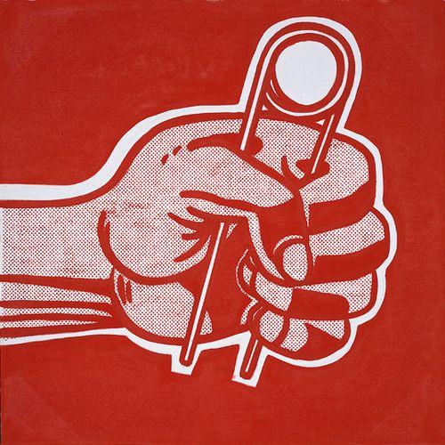 The Grip (1962) by Roy Lichtenstein.