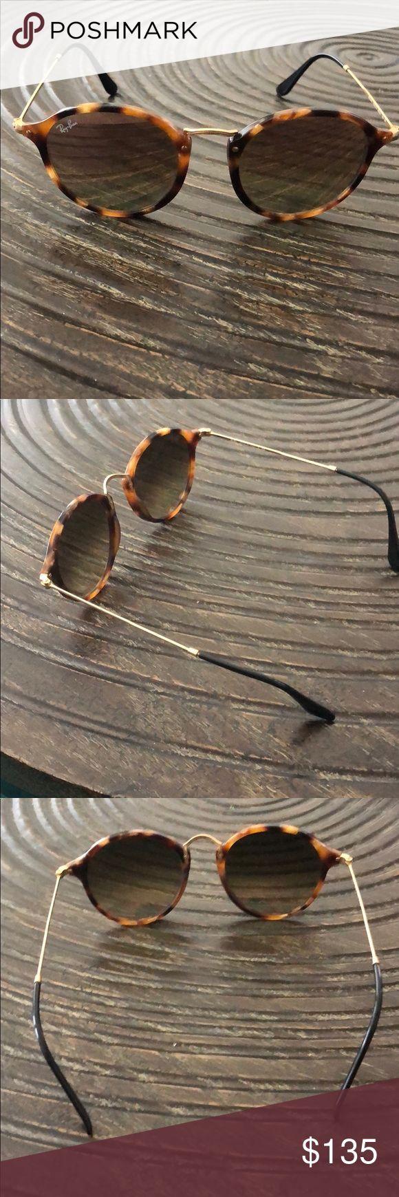 Gafas de sol Ray Ban Round Fleck En buen estado además del
