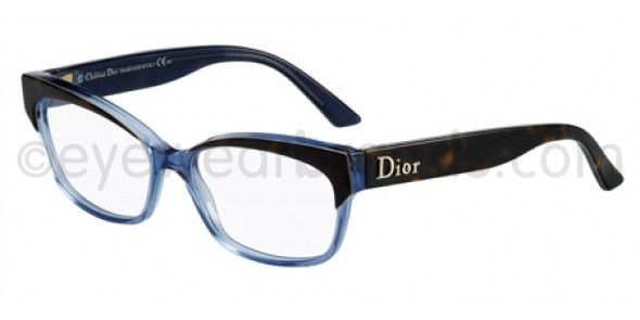 84ad5421004 Dior CD 3197 Dior CD3197 RGR HAVANA BLUE Dior Glasses