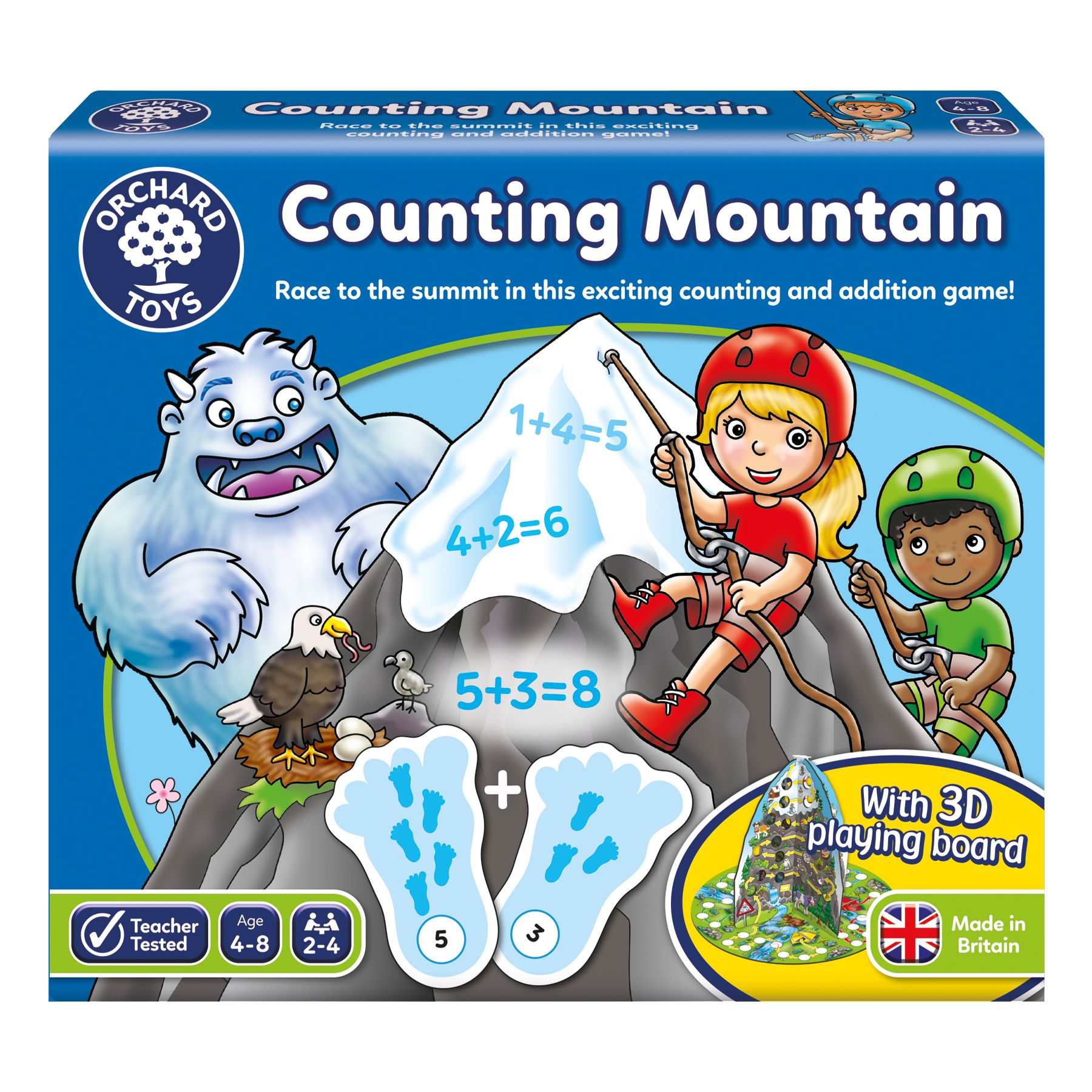 Counting Mountain Game Orchard toys, Addition games, Fun