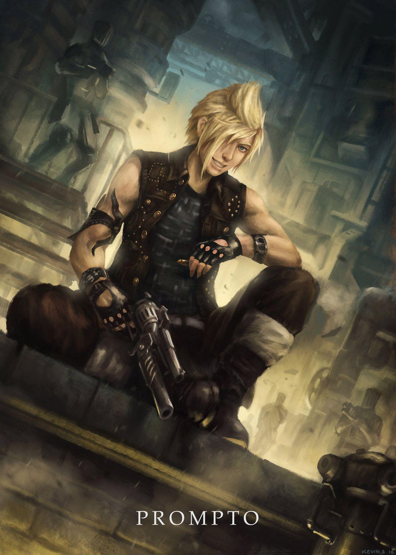 Pin By Grace Katie On Prompto Final Fantasy Xv Prompto Final