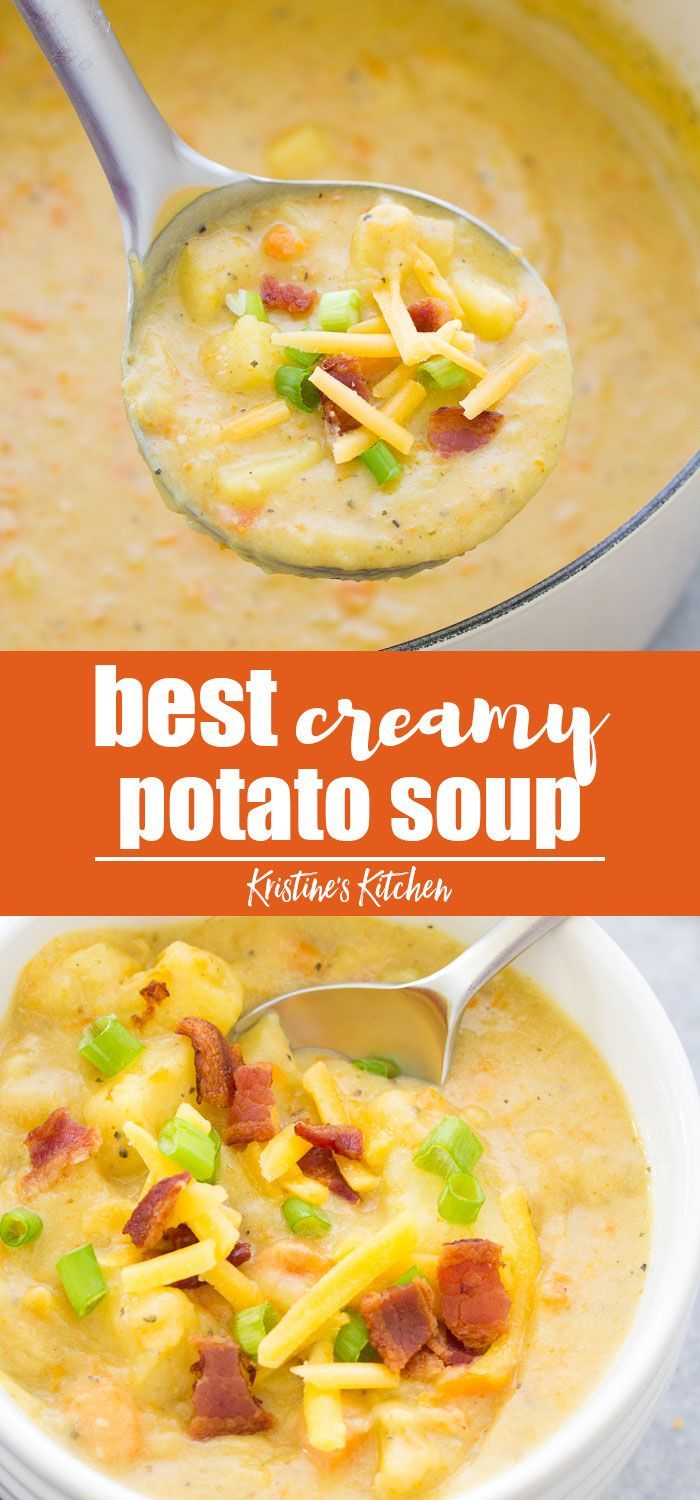 Best Creamy Potato Soup