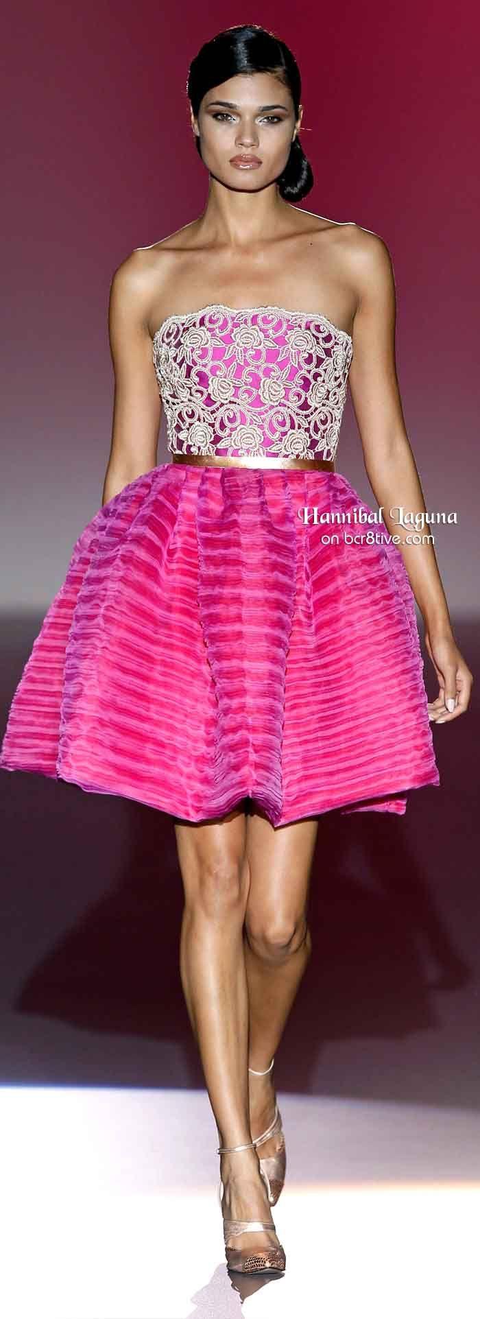 Hannibal Laguna Spring 2014 | Vestidos de fiesta, Vestiditos y ...