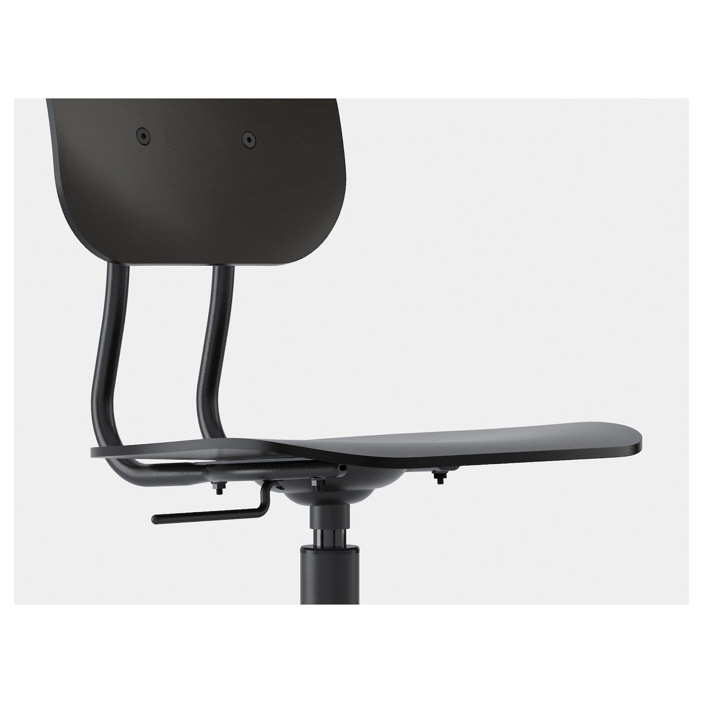 ikea  kullaberg swivel chair black  chair cheap dining