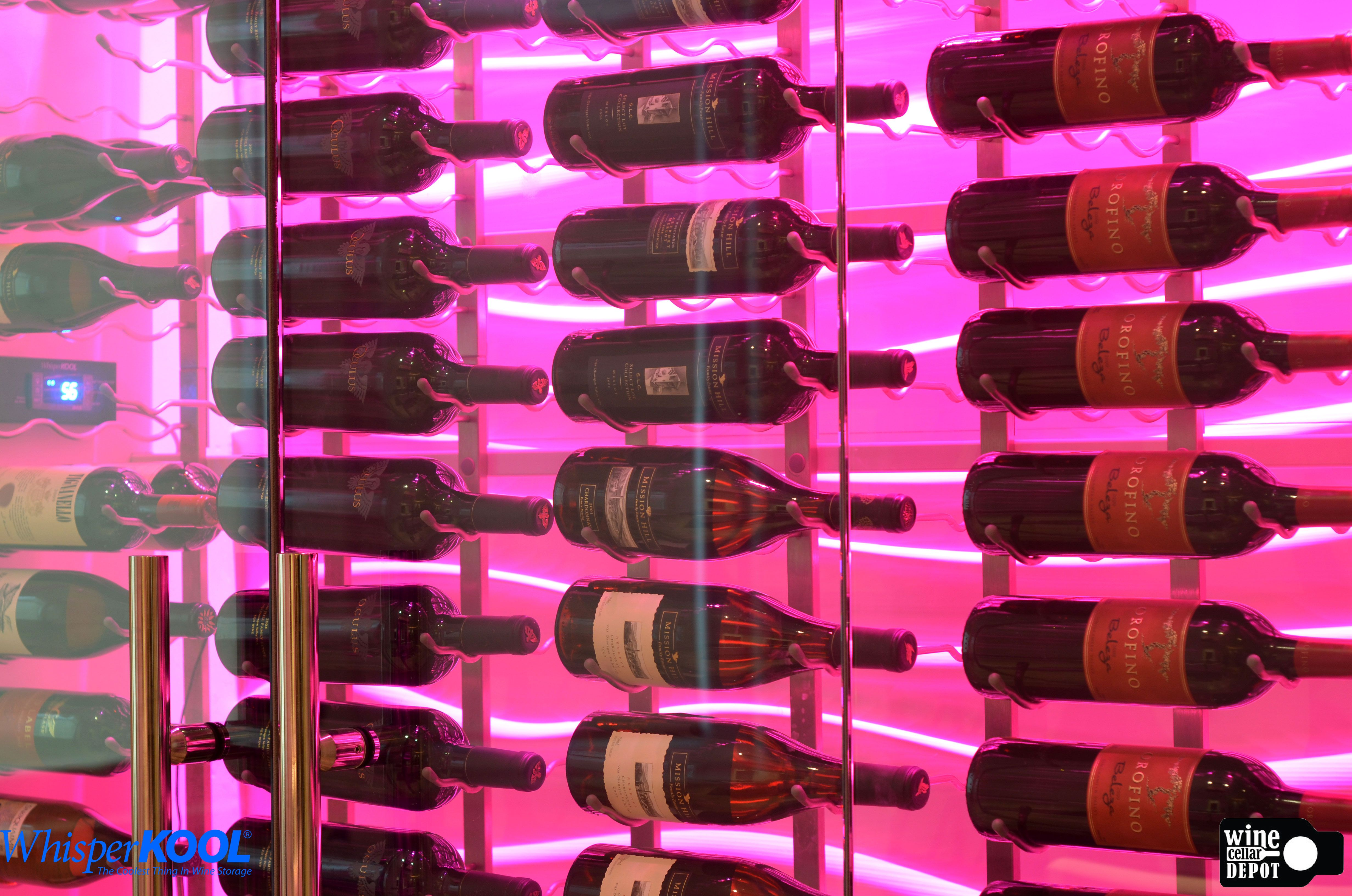 Another Absolutely Stunning Winecellar Designed By Our Friends