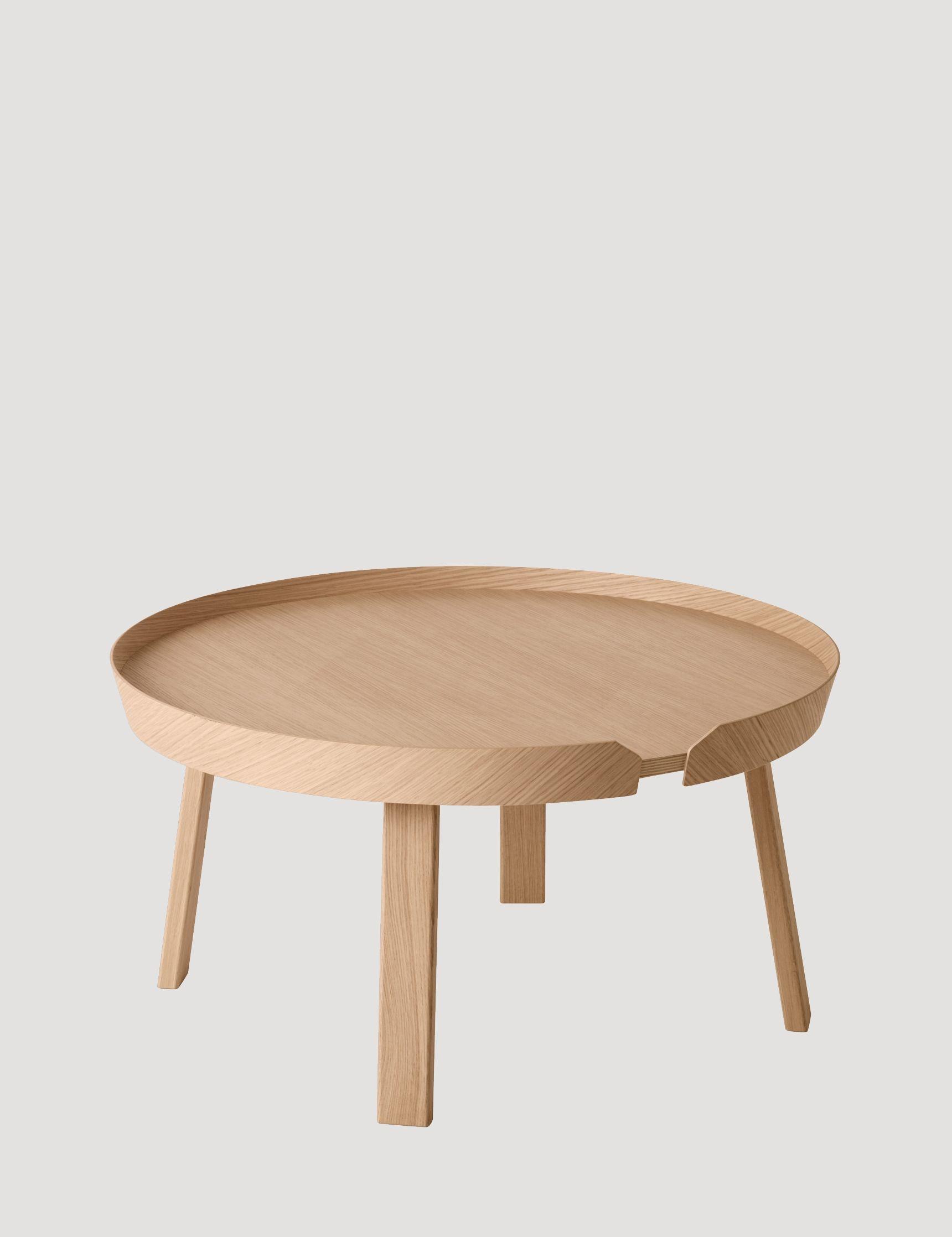 Around – Modern Scandinavian Design Sofa Table by Muuto Muuto