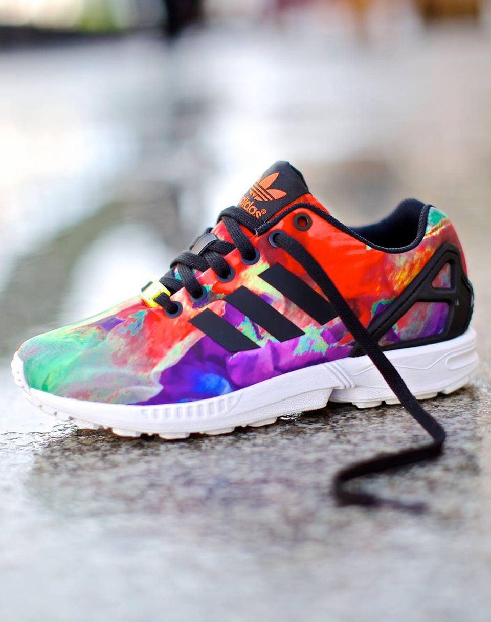 adidas original zx flux st.tropez torsion multicolor 2014