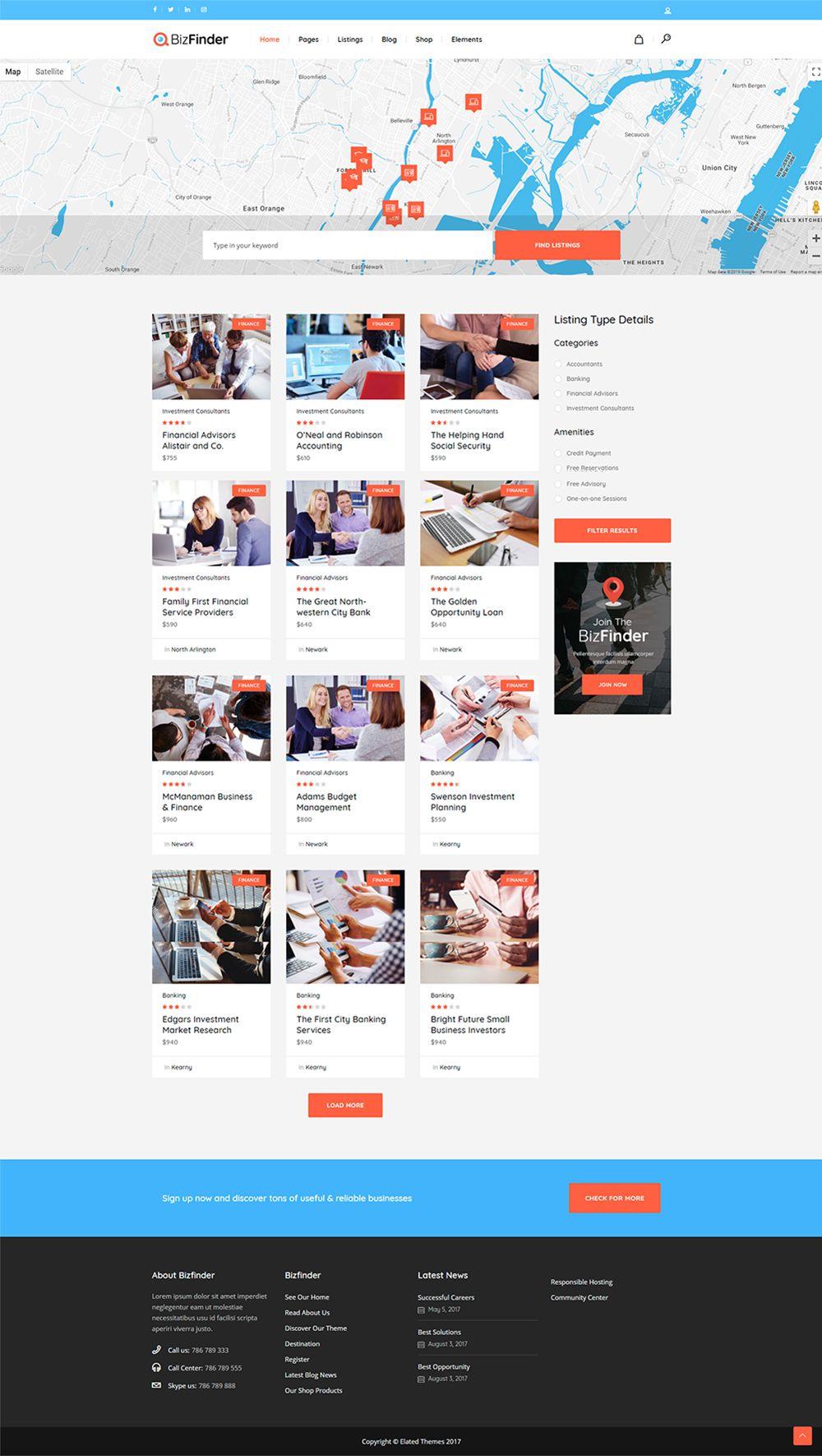 Home 5 Web Design Business Job Board